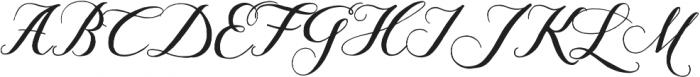 Giulietta C otf (400) Font UPPERCASE