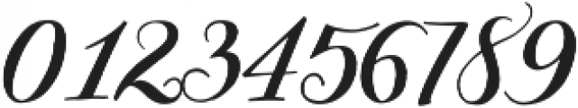 Giulietta Pro otf (400) Font OTHER CHARS