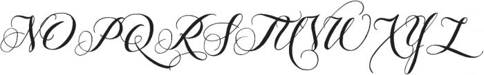 Giulietta Pro otf (400) Font UPPERCASE