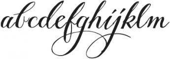 Giulietta Pro otf (400) Font LOWERCASE