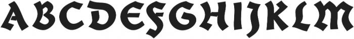Giureska Dark otf (400) Font UPPERCASE
