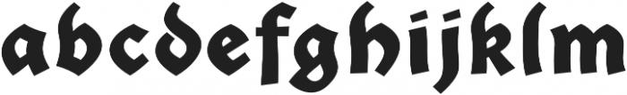 Giureska Dark otf (400) Font LOWERCASE