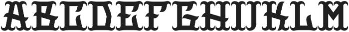ginger otf (400) Font LOWERCASE