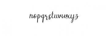 GirlsStuff.otf Font LOWERCASE
