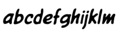 Giant Sized Spectacular BB Standard Italic Font LOWERCASE