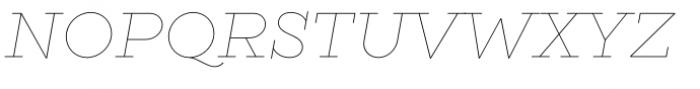 Gist Line Light Font UPPERCASE