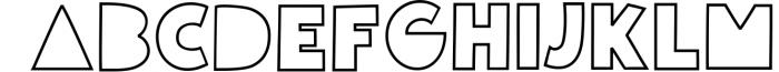 Giggle Glory, a fun block font 1 Font UPPERCASE
