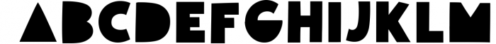 Giggle Glory, a fun block font Font UPPERCASE