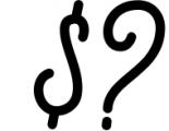 Gillnord Monoline Script extras illustration 2 Font OTHER CHARS
