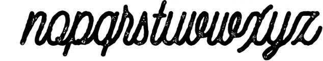 Gillnord Monoline Script extras illustration 3 Font LOWERCASE