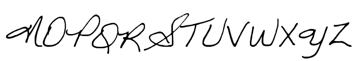 GINETTE Font UPPERCASE