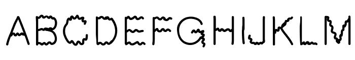 GIfont Font UPPERCASE