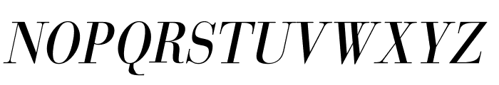 GiambattistaDueMille-Oblique Font UPPERCASE