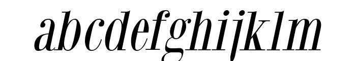 GiambattistaDueMille-Oblique Font LOWERCASE