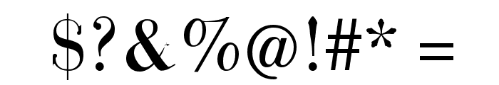 GiambattistaVsPetit Font OTHER CHARS