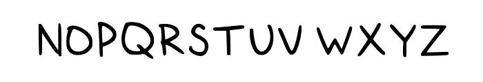 GiantsTeeth Medium Font UPPERCASE
