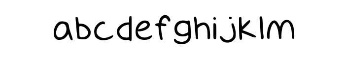 GiantsTeeth Medium Font LOWERCASE