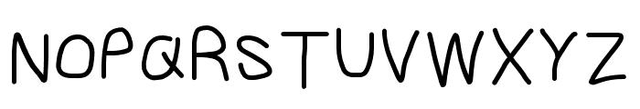 Gib Font Plox Font UPPERCASE