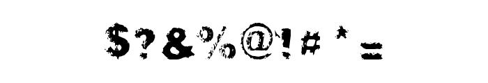 Gibbard_erc_01 Font OTHER CHARS