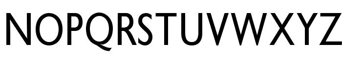 GibbyOpti-MediumCond Font UPPERCASE