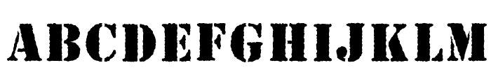 Gideon s Army  Font LOWERCASE