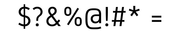 Gidole Regular Font OTHER CHARS