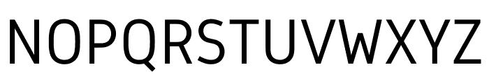 Gidole Regular Font UPPERCASE