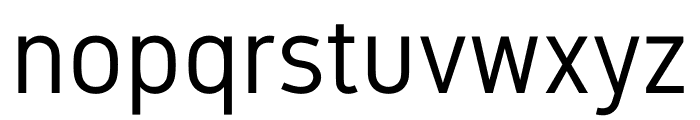 Gidole Regular Font LOWERCASE