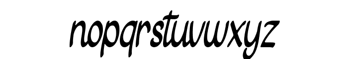 Gietha Script Font LOWERCASE