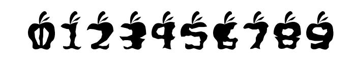 Gigit ApelRegular Font OTHER CHARS