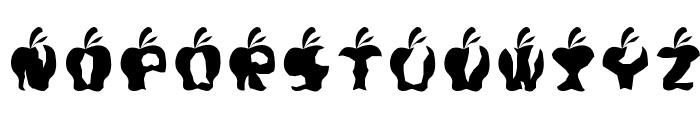 Gigit ApelRegular Font LOWERCASE
