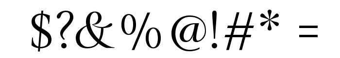 Gilda Display Font OTHER CHARS