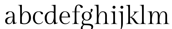 Gilda Display Font LOWERCASE