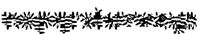Gilgongo Pap Font LOWERCASE