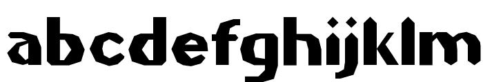 Gilgongo Sledge Font LOWERCASE