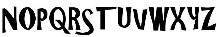 Gilligans Island Font UPPERCASE
