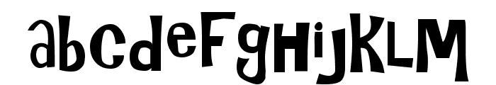 Gilligans Island Font LOWERCASE
