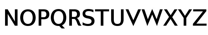 GilliusADF-Bold Font UPPERCASE