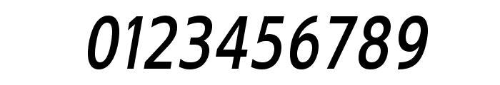 GilliusADF-BoldCondItalic Font OTHER CHARS