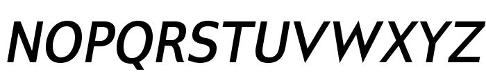 GilliusADF-BoldItalic Font UPPERCASE