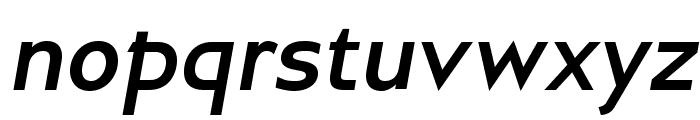 GilliusADF-BoldItalic Font LOWERCASE