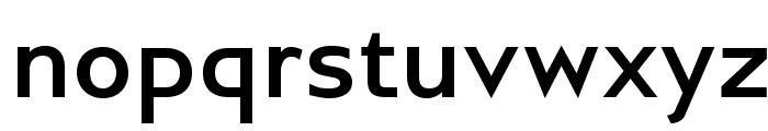 GilliusADF-Bold Font LOWERCASE