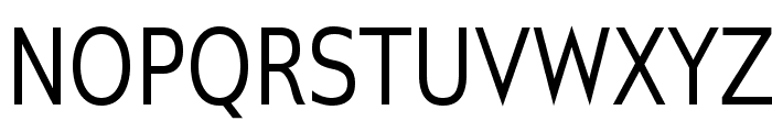 GilliusADF-Cond Font UPPERCASE