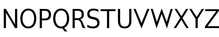 GilliusADF-Regular Font UPPERCASE