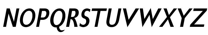 GilliusADFNo2-BoldCondItalic Font UPPERCASE