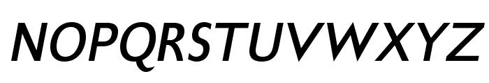 GilliusADFNo2-BoldItalic Font UPPERCASE