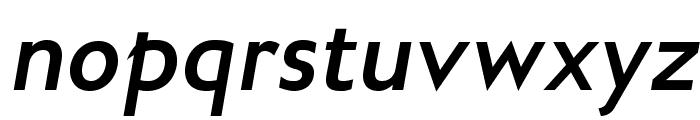 GilliusADFNo2-BoldItalic Font LOWERCASE