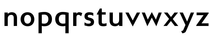 GilliusADFNo2-Bold Font LOWERCASE