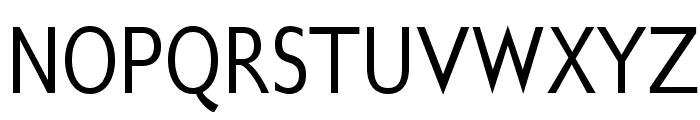 GilliusADFNo2-Cond Font UPPERCASE
