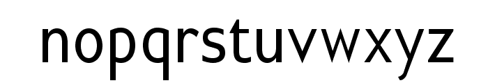 GilliusADFNo2-Cond Font LOWERCASE